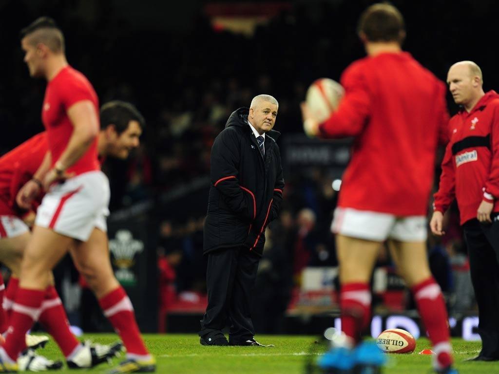 Wales manager Warren Gatland