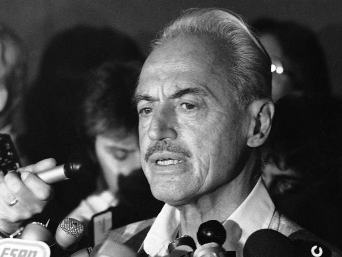 Uncompromising: Miller in 1981 during a baseball players' strike