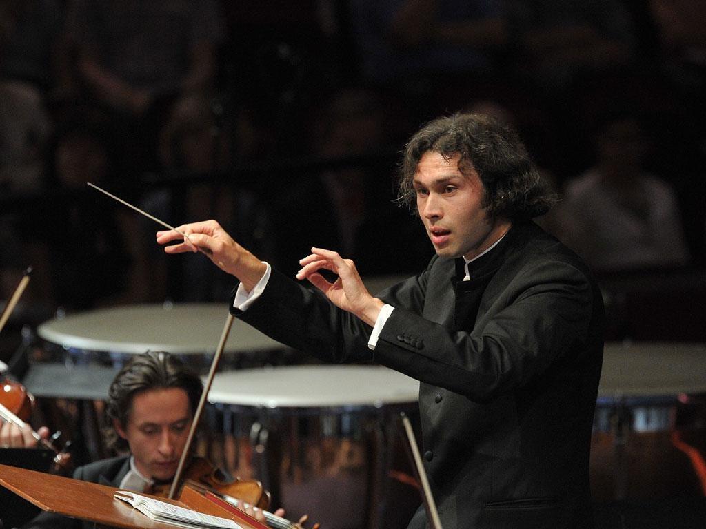 Bold intent: Vladimir Jurowski conducting the LPO