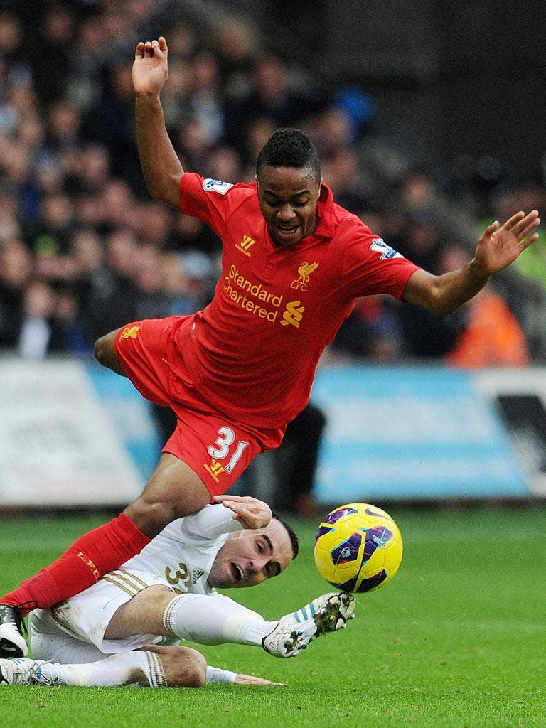 Fall guy? Raheem Sterling seems to have surrendered control of his destiny