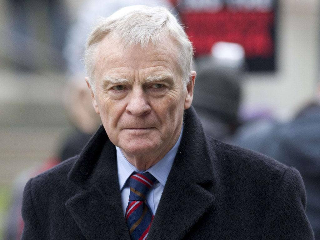 Biting back: Mosley says the politicians have not understood Leveson yet