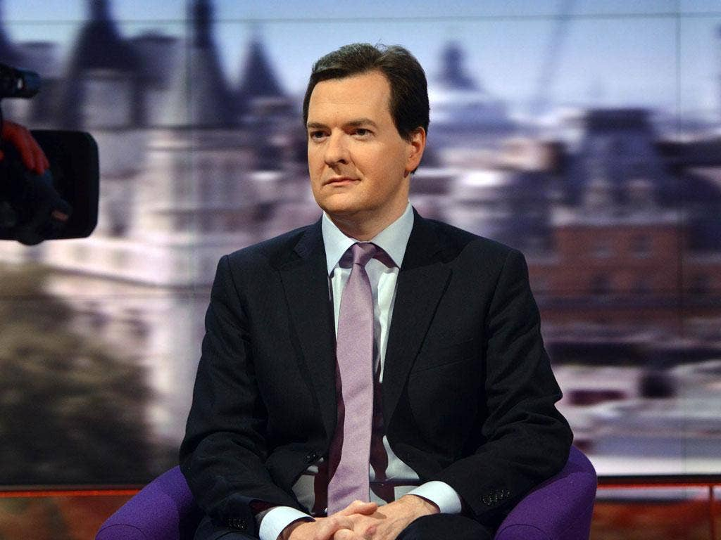 Chancellor George Osborne confirmed that he would look for greater contributions from the wealthy as he seeks to tackle the UK's deficit