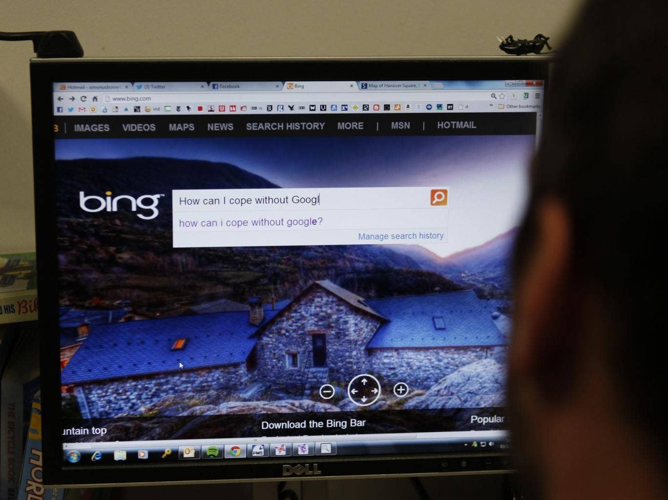 Bing for a day: my fruitless attempt to avoid using a Google product
