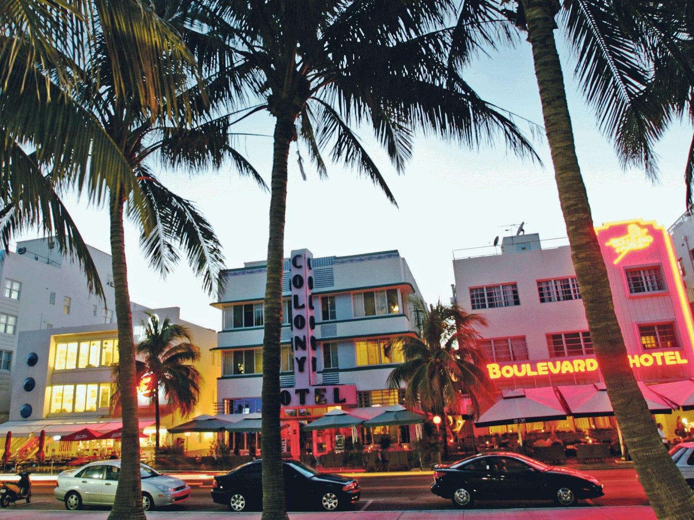 Deco delights: Ocean Drive