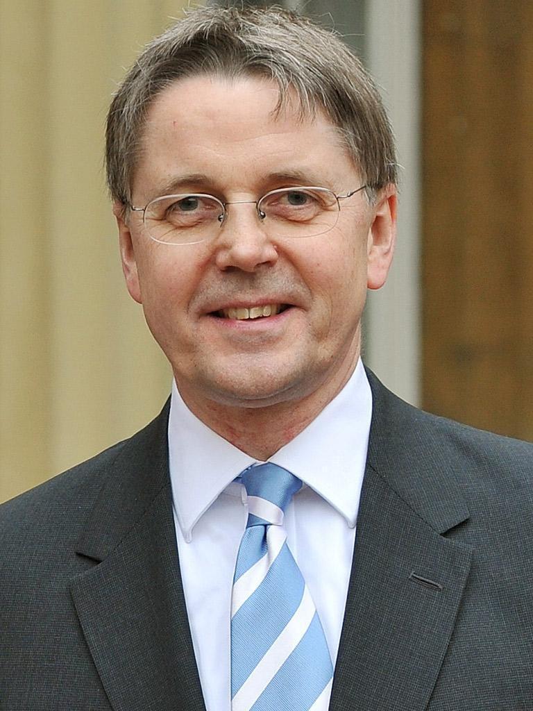 Sir Jeremy Heywood, head of Britain's civil service