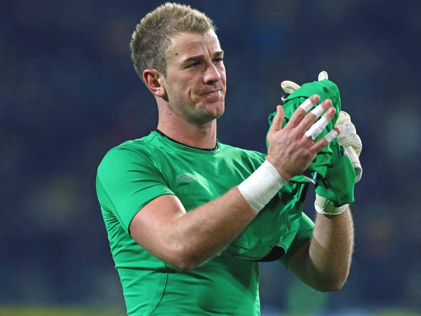 Joe Hart is disappointed with the attitude of some of his teammates