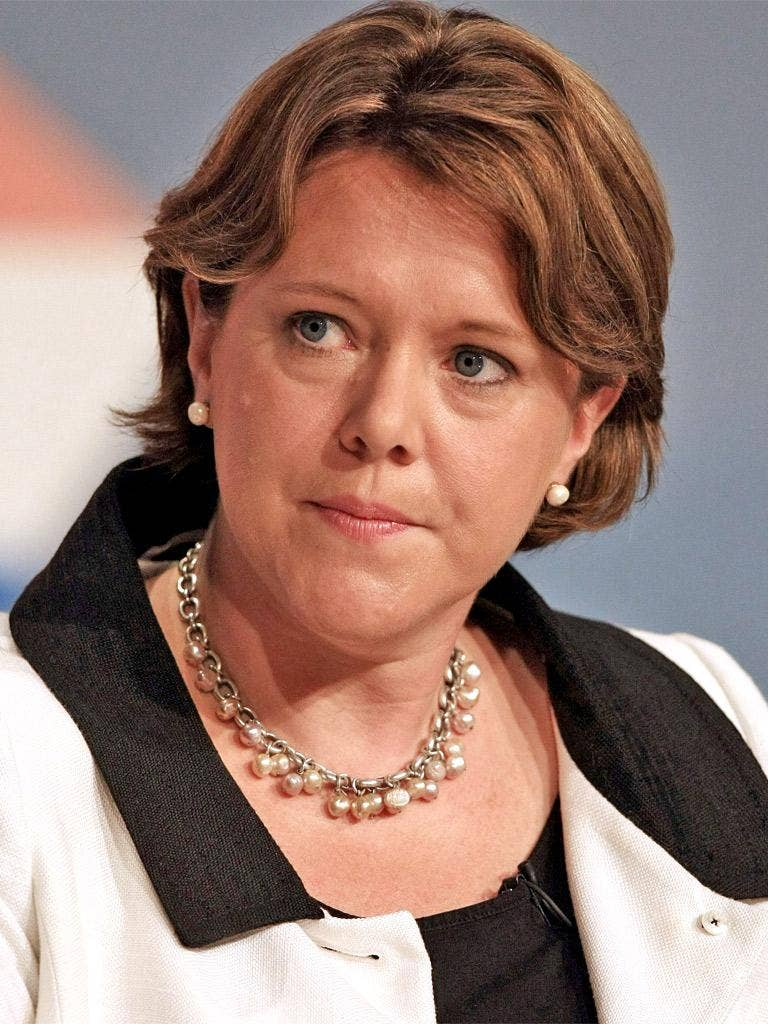 Maria Miller, Minister for Women: 'What we are trying to do here is...reflect the way medical science has moved on' (speaking in October)