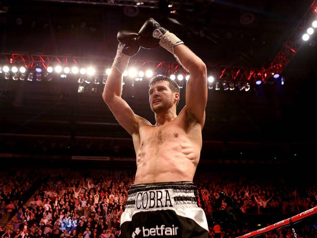 Carl Froch is among the boxers in Eddie Hearn's stable