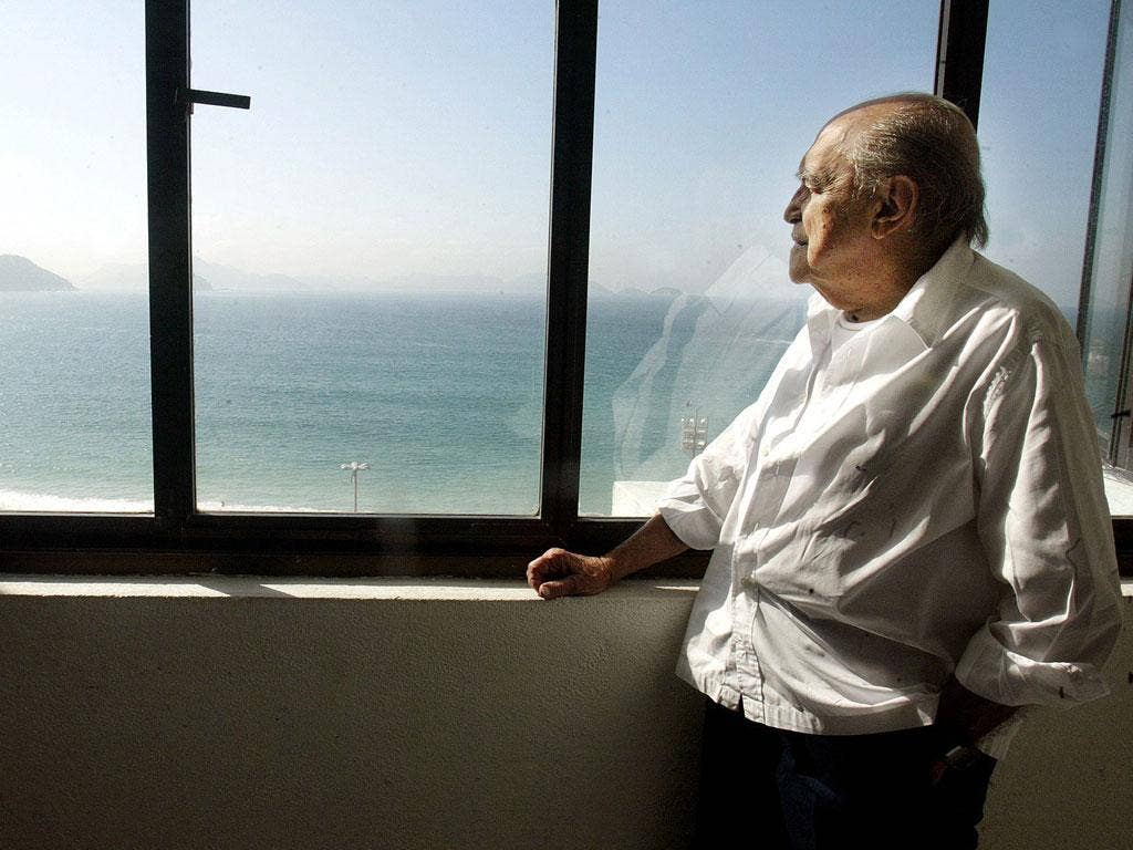 Oscar Niemeyer died late yesterday
