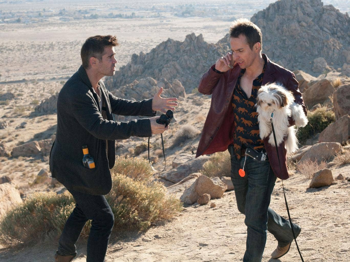 Call of the wild: Colin Farrell and Sam Rockwell in 'Seven Psychopaths'
