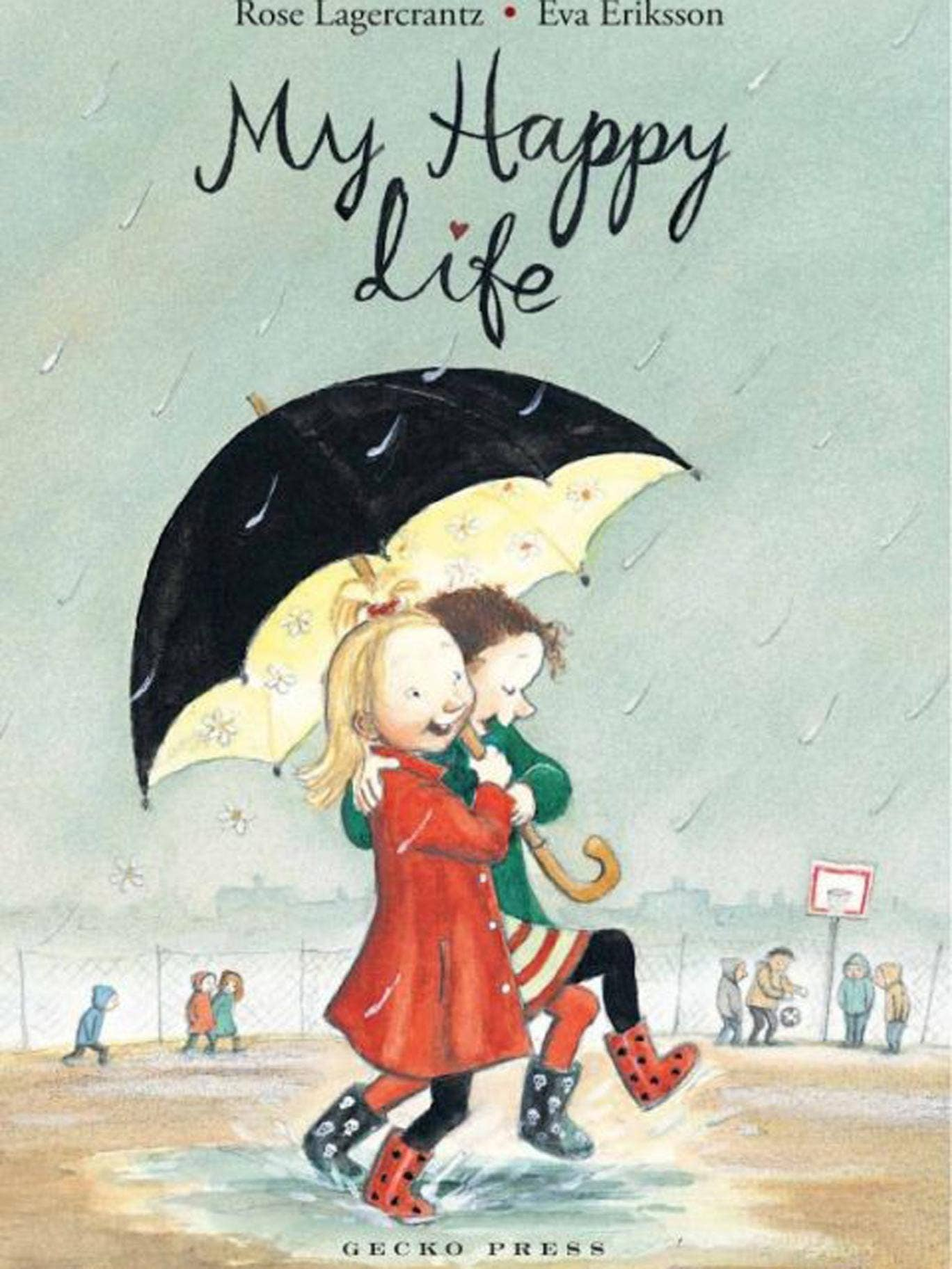 From spy clubs to enchantments: Cover of 'My Happy Life'