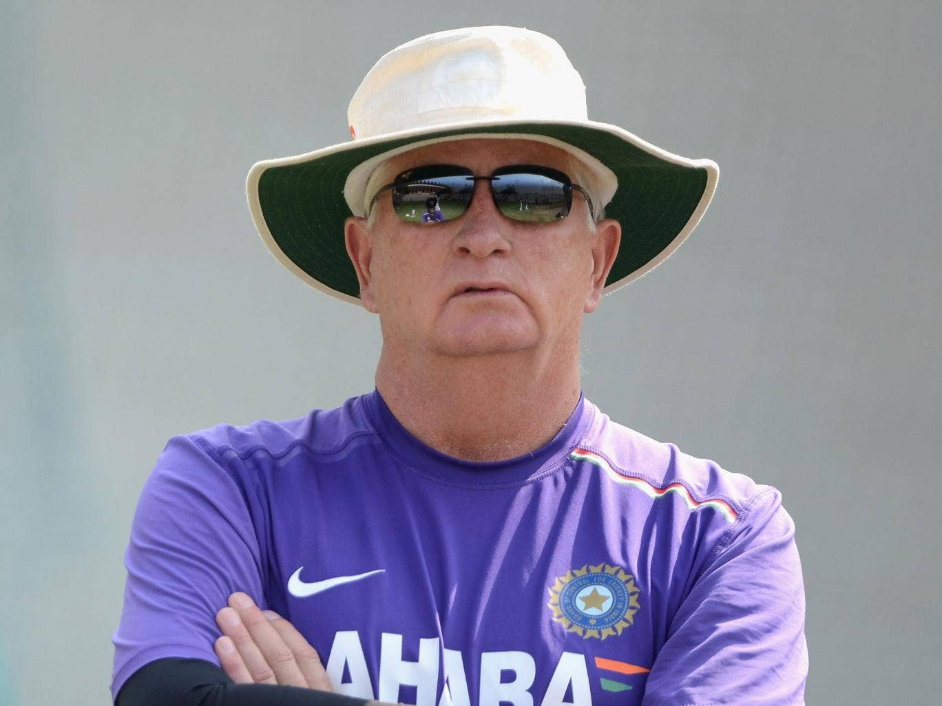 Duncan Fletcher: India's coach has presided over side's fall from first to fifth in the rankings