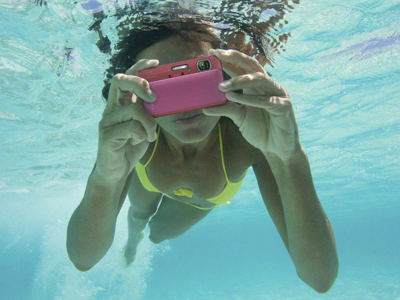 Make a splash: the waterproof Sony DSC-TX20 camera