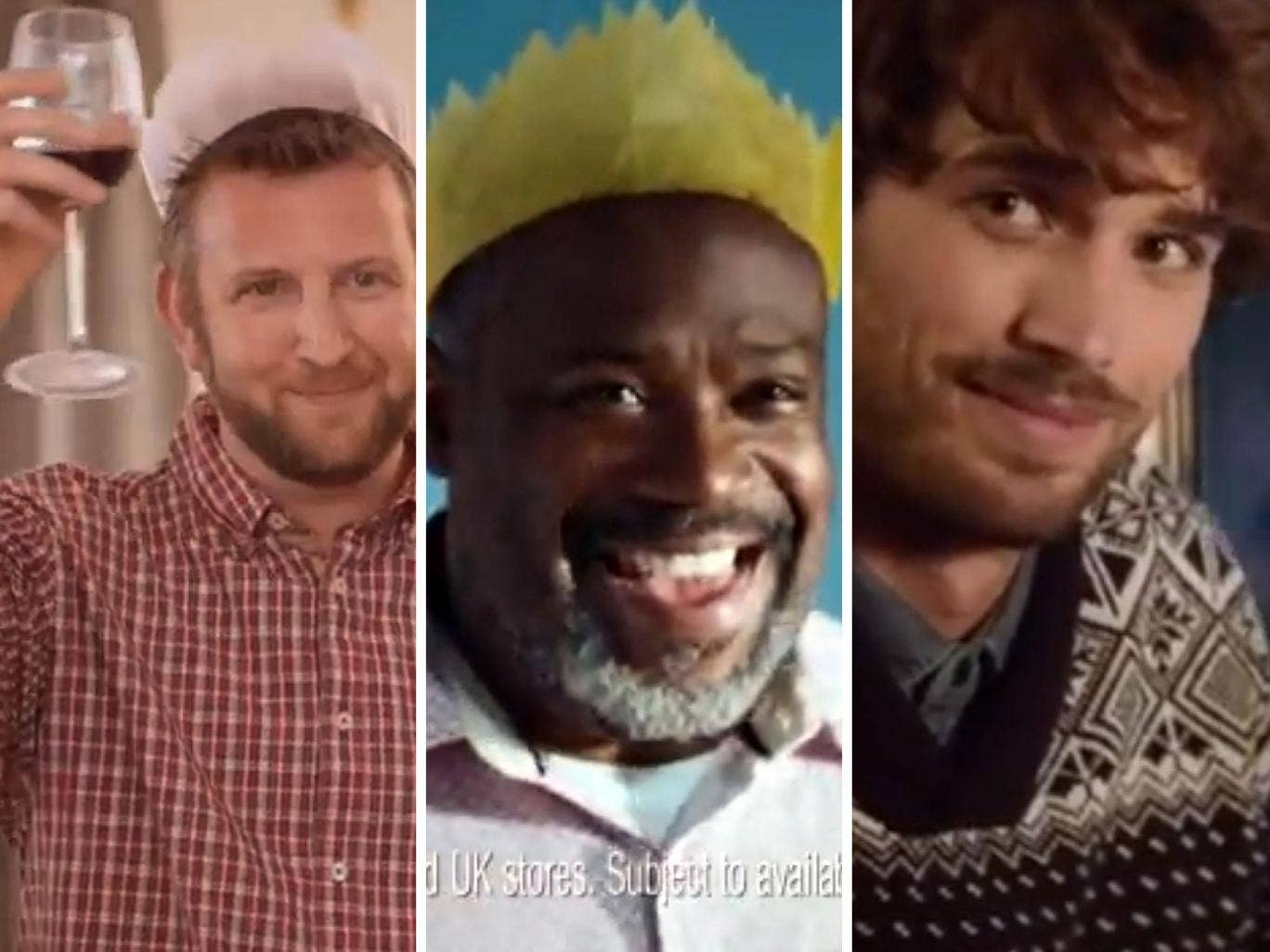 Asda, Tesco and Debenhams are just a few of the retailers using blokes with beards in TV ads