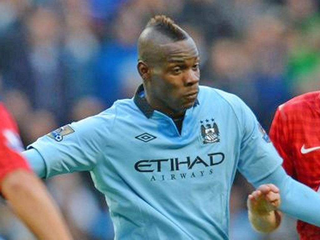 Manchester City improved drastically after Mario Balotelli was substituted