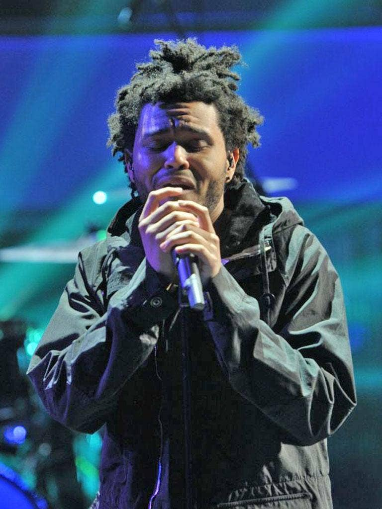 The Weeknd: Twenty-two-year-old Canadian Abel Tesfaye has been making waves for quite some time. Last year's mix tape House of Balloons was deservedly considered as among the finest outputs of 2011. Hopefully he'll really break through next year