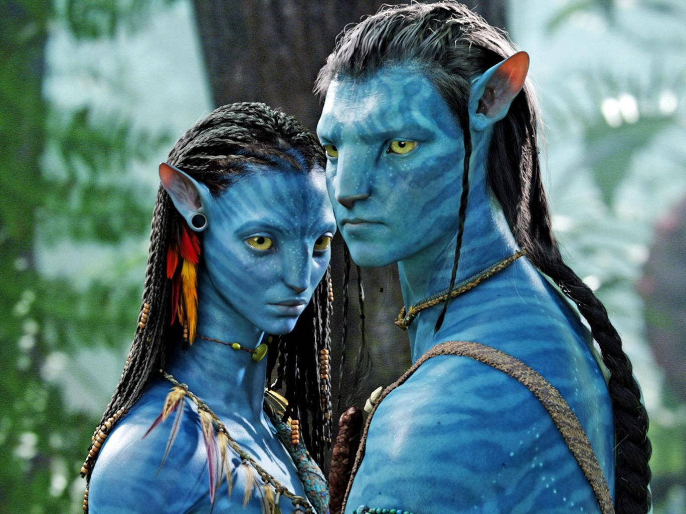 Avatar grossed $2.8bn at the box office after its release in 2009
