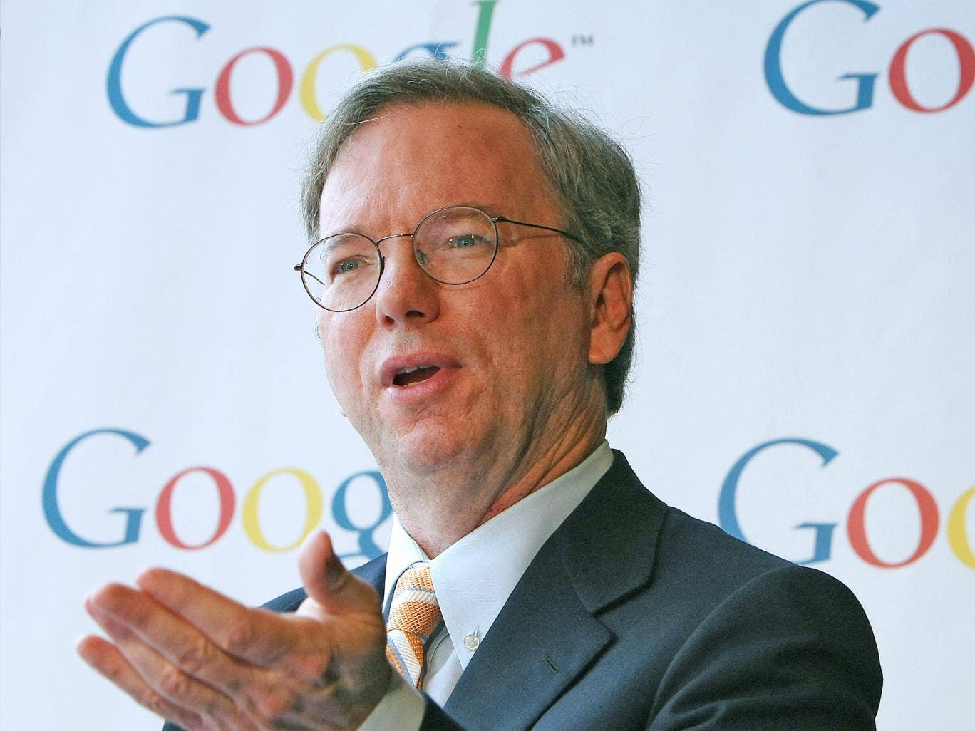 Google Chairman, Eric Schmidt: 'I am very proud of the structure that we set up'