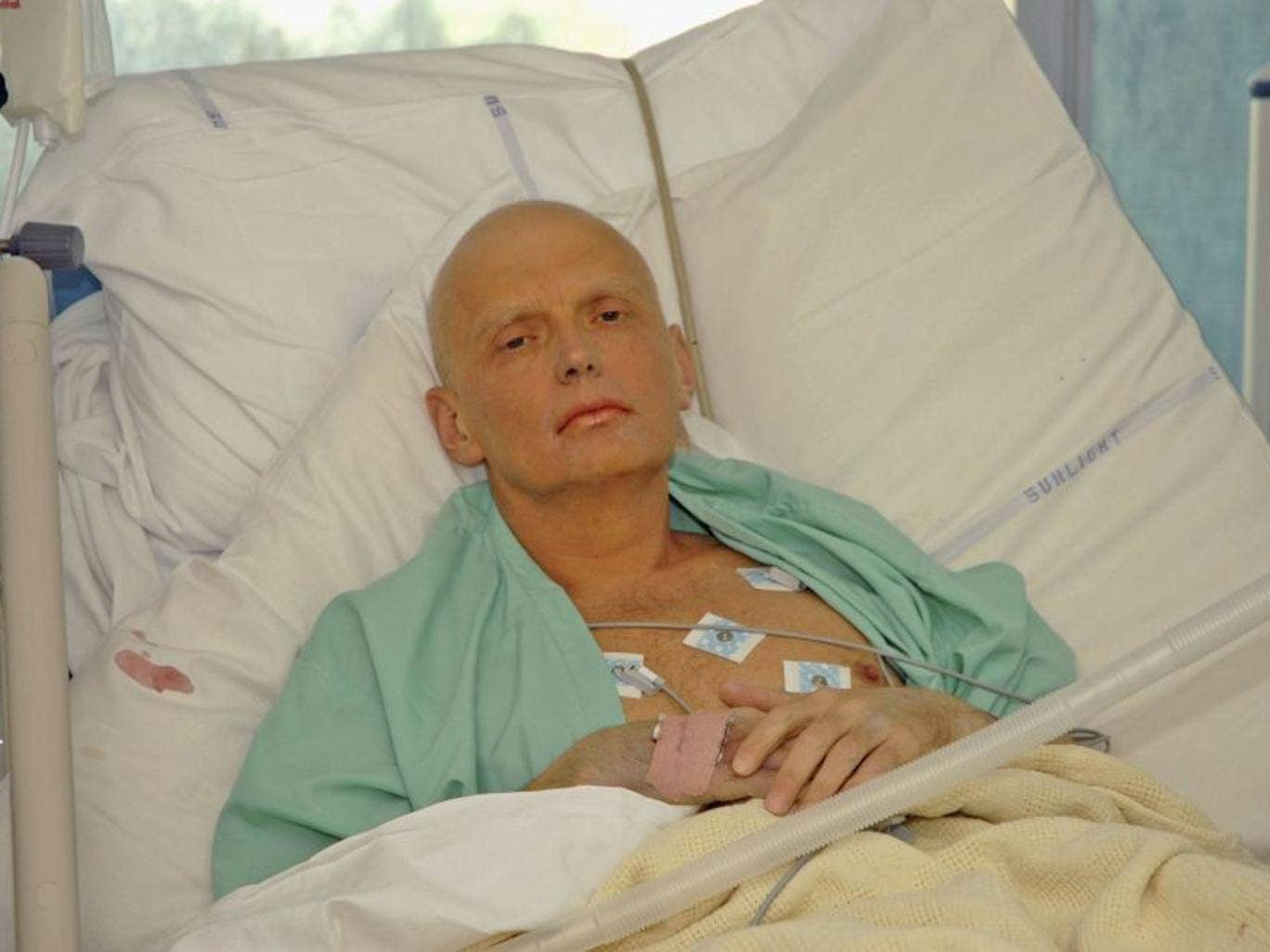 Litvinenko died in November 2006 after he was poisoned with polonium-210 while drinking tea at a meeting