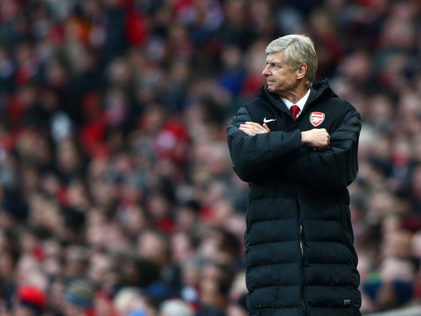 Wenger is facing one of the biggest tests of his 16-year tenure this season