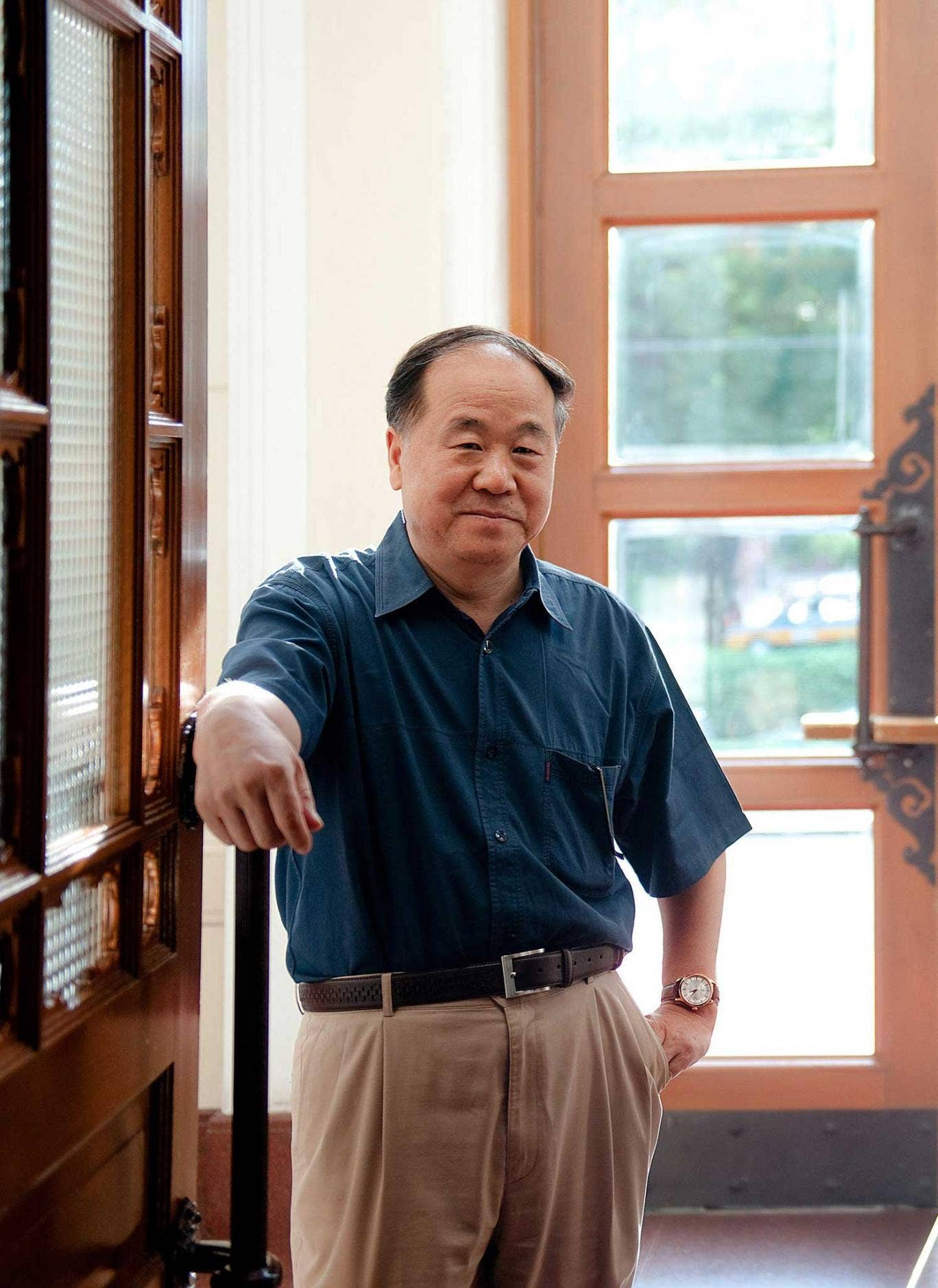 Protest from within the system: Mo Yan, Nobel prize winner