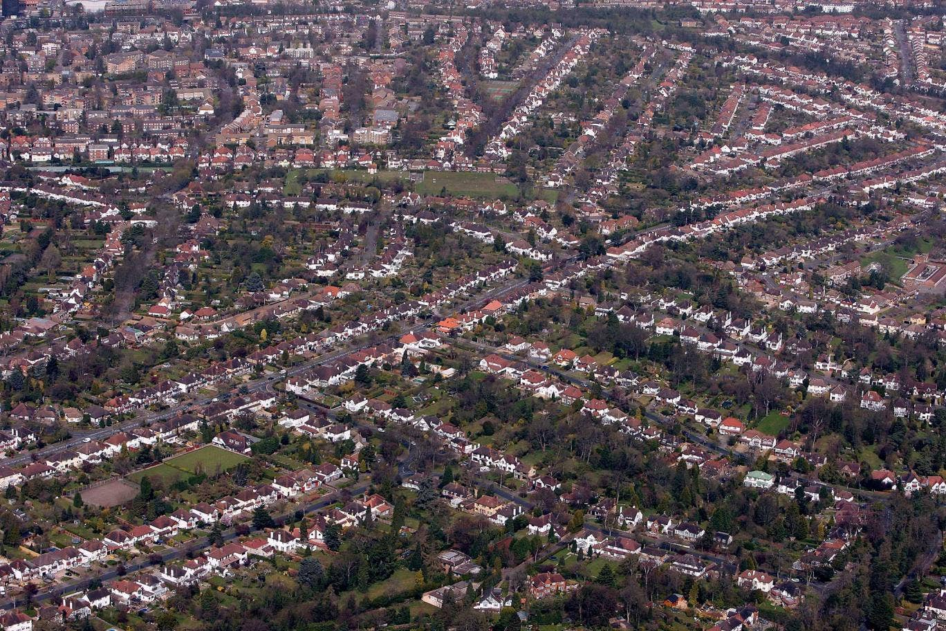 Suburban sprawl: The outer reaches of south London