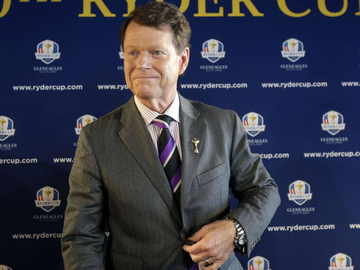 Tom Watson was named America's next Ryder Cup captain yesterday