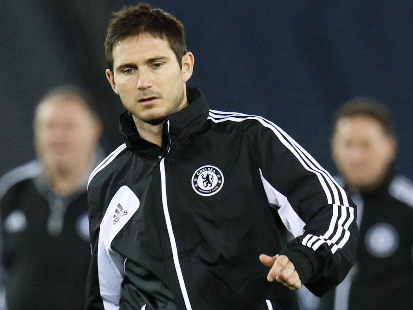 Frank Lampard: The England midfielder has only six months left on his deal at Chelsea
