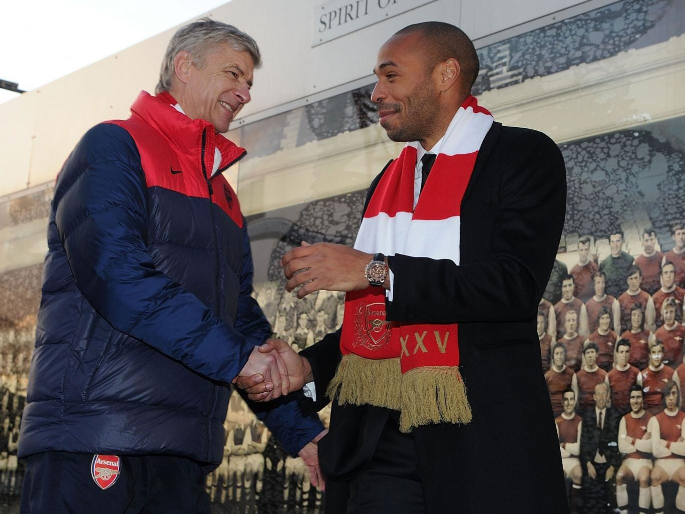 Thierry Henry should adopt an ambassadorial role at Arsenal like Patrick Vieira's at Manchester City, Alisher Usmanov believes