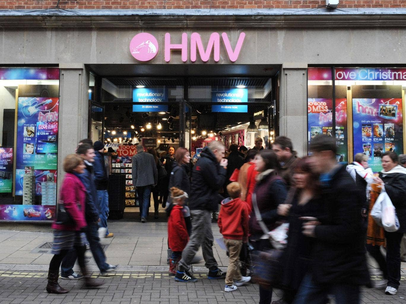 HMV directors admit there's doubt over its future