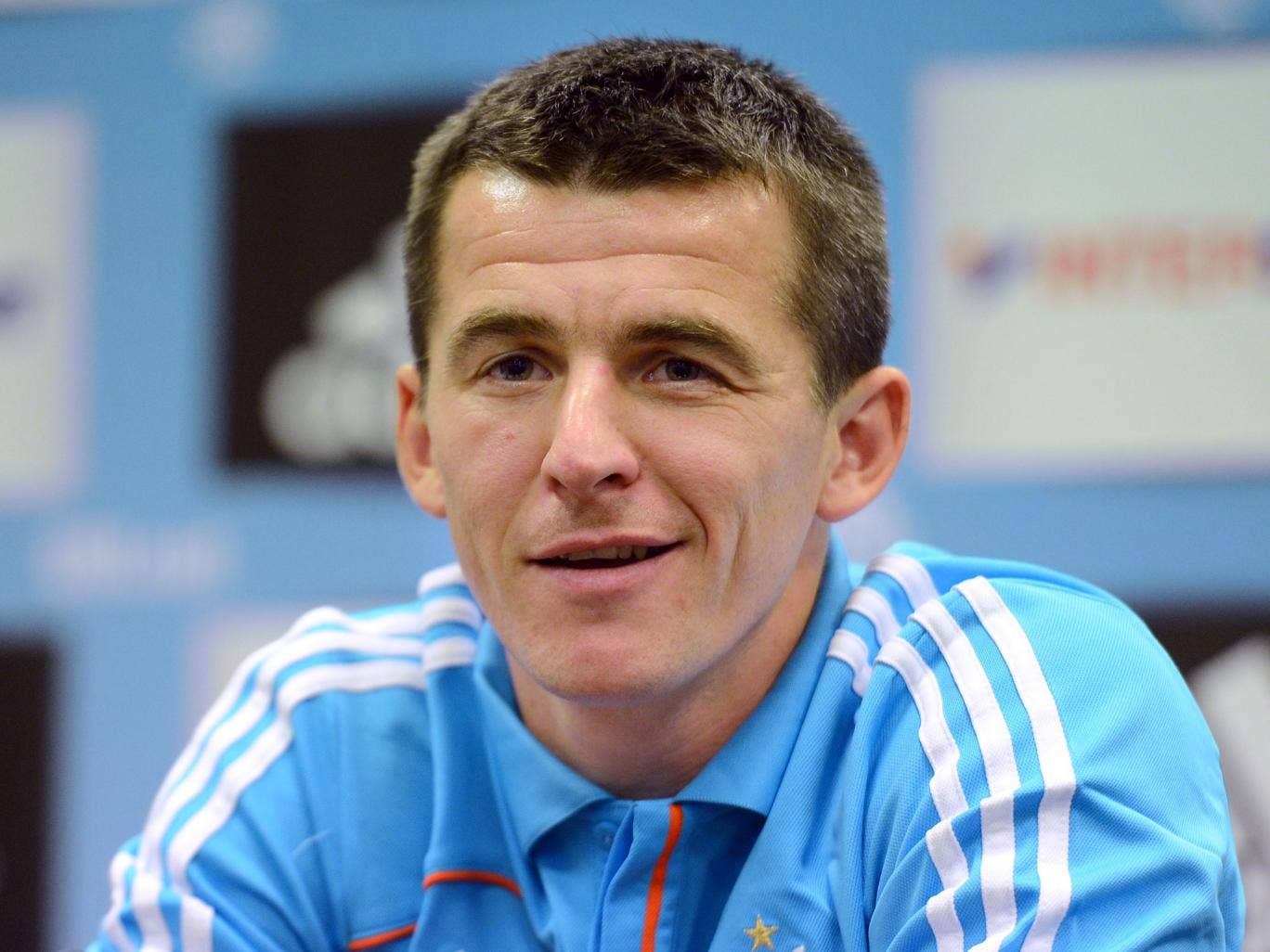 "<b>Joey Barton</b> after doing a press conference with a slightly dubious French accent:<br/> ""In my defence, it is very difficult to do a press conference in Scouse for a room full of French journalists. The alternative is to speak like a 'Allo Allo!' ch"