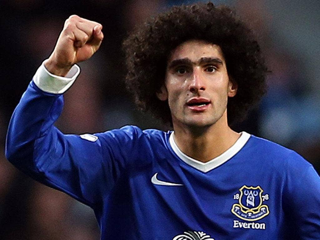 <b>Marouane Fellaini</b><br/> It's not new, but it is still incredible - just how does Marouane get his hair that big?