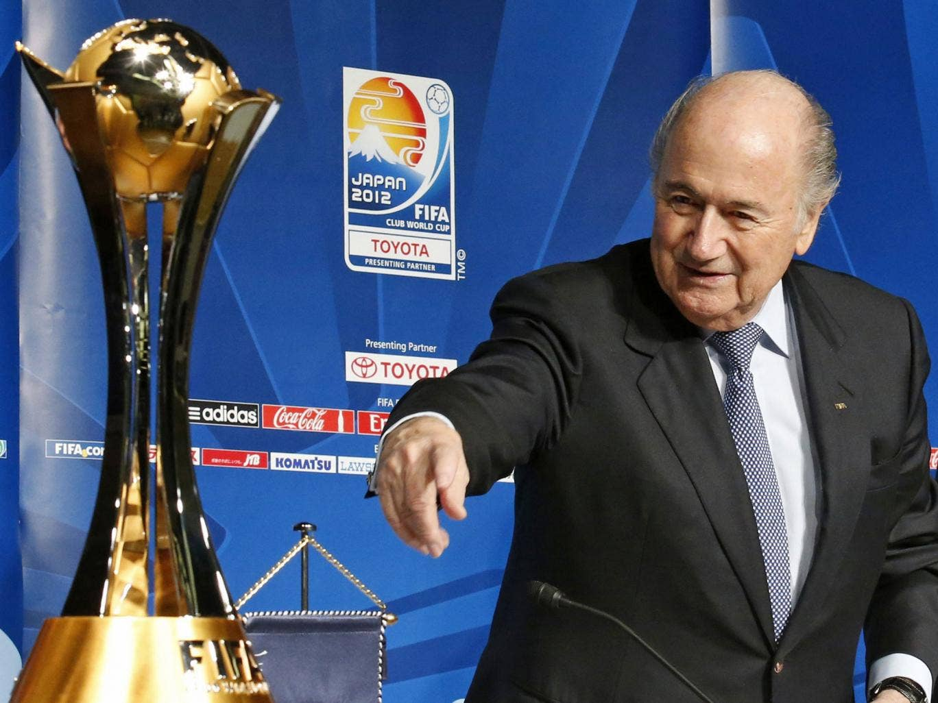 Sepp Blatter has called on his Uefa counterpart, Michel Platini, to consider imposing tougher sanctions on the Serbian FA for racist chanting and violence