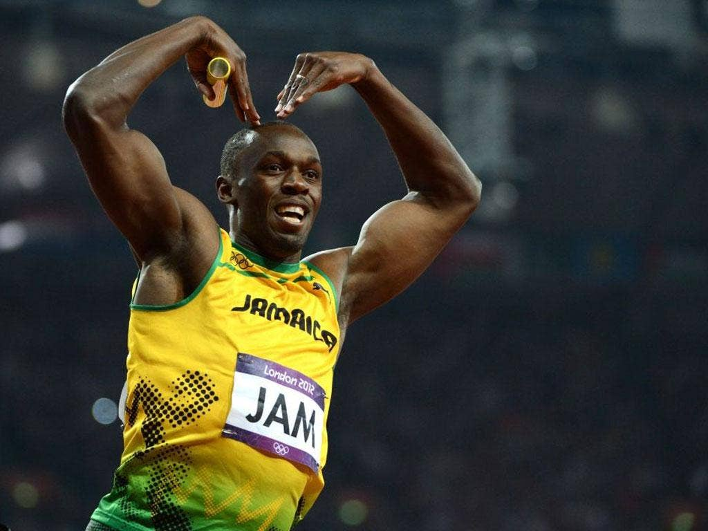 Overseas Sports Personality - Usain Bolt: Three London golds and another piece of history written at speed. The Jamaican became the first man to defend the 100m and 200m titles