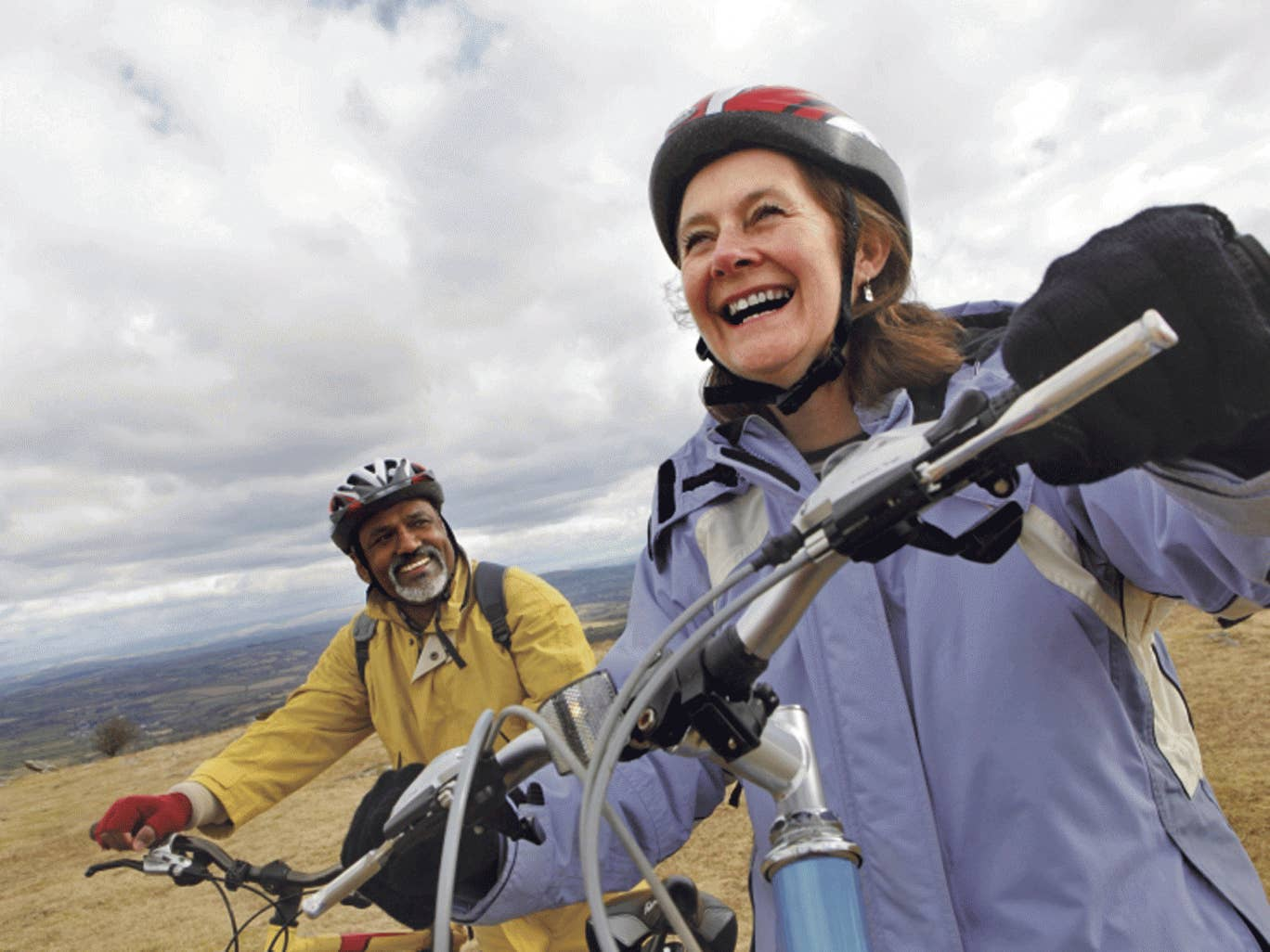 Feel-good factor: cycling can help beat depression
