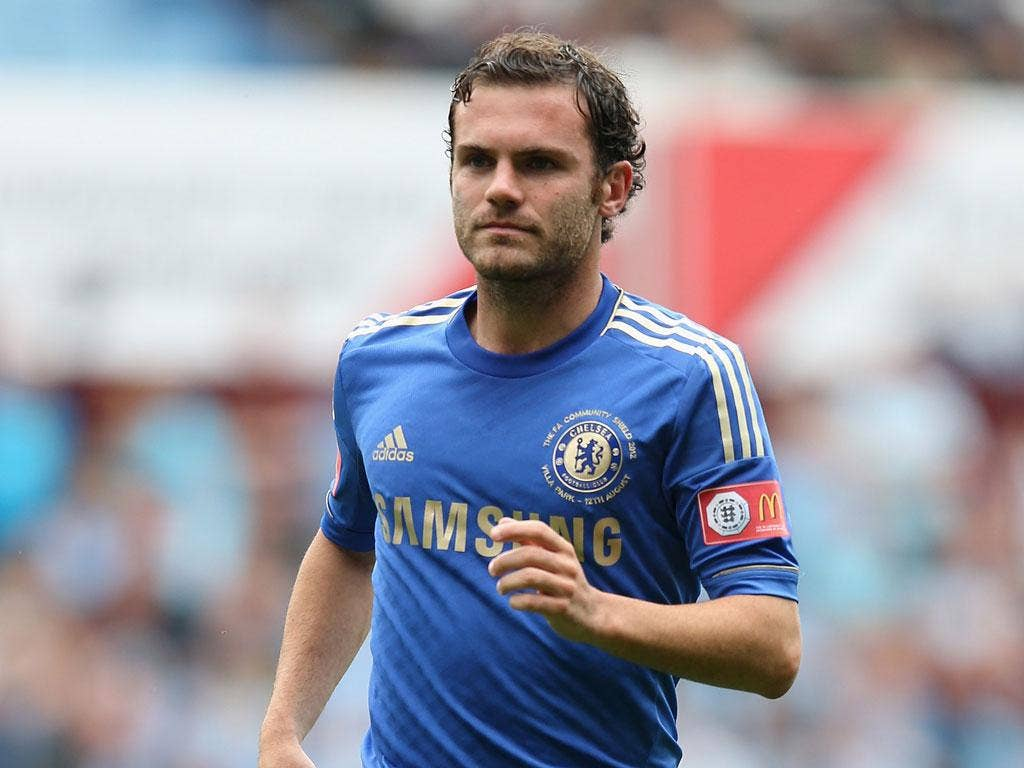 Juan Mata: The midfielder needs to recharge his batteries, says Chelsea's manager, Roberto Di Matteo.