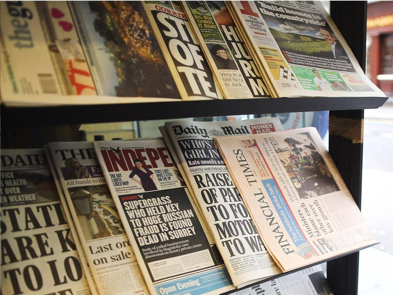 The newspaper industry oppose a 'statutory underpinning' of the new press body