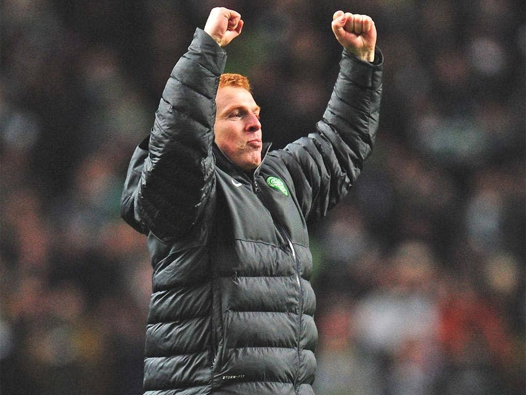 Neil Lennon has worked wonders in the Champions League this year
