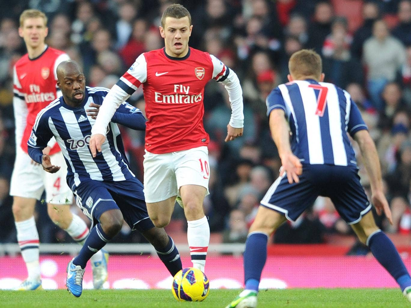 Jack Wilshere was one of five players to agree new deals