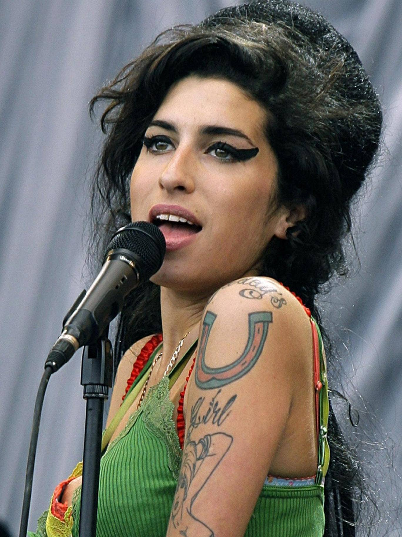 Amy Winehouse joined the '27 club' in July of last year