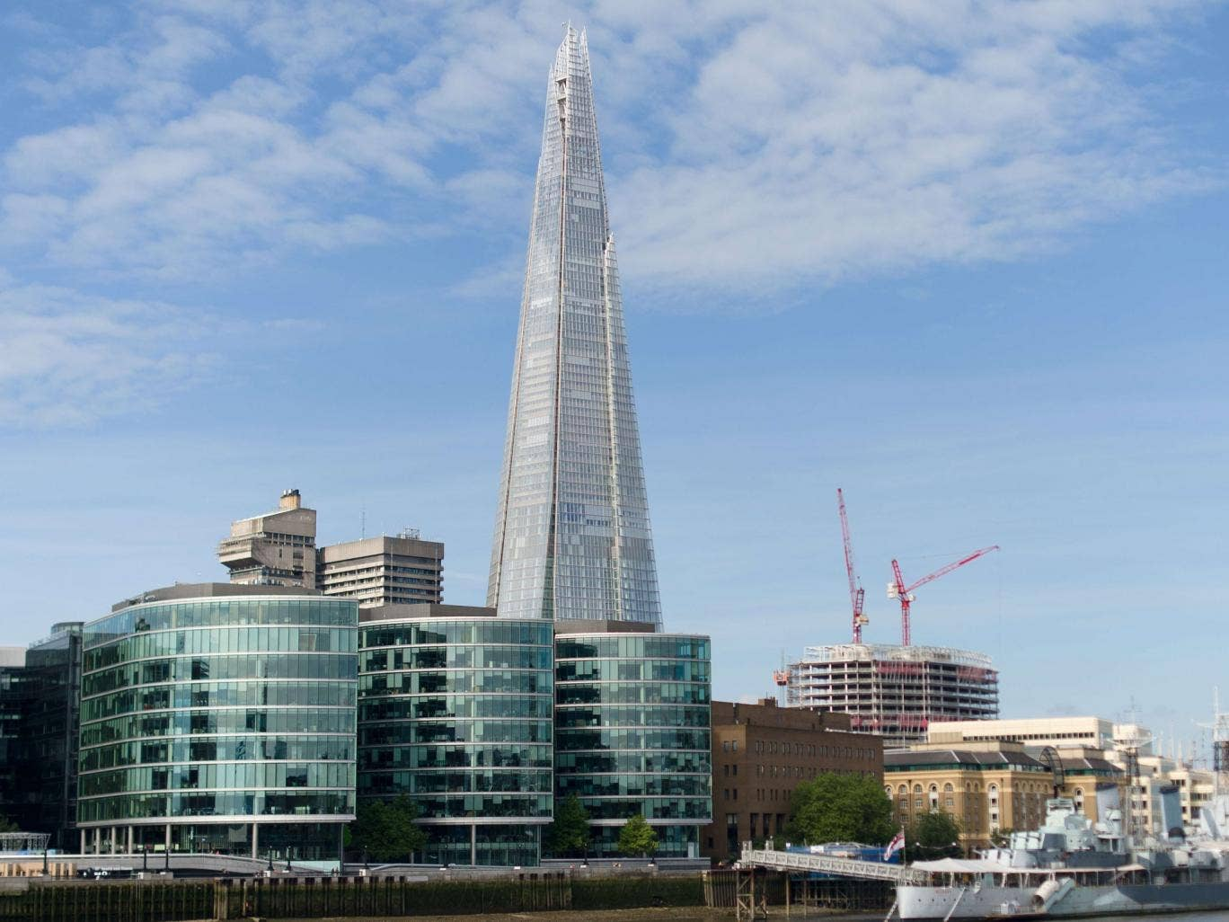Free Shard tickets reserved for locals have been nabbed and put up for sale on eBay