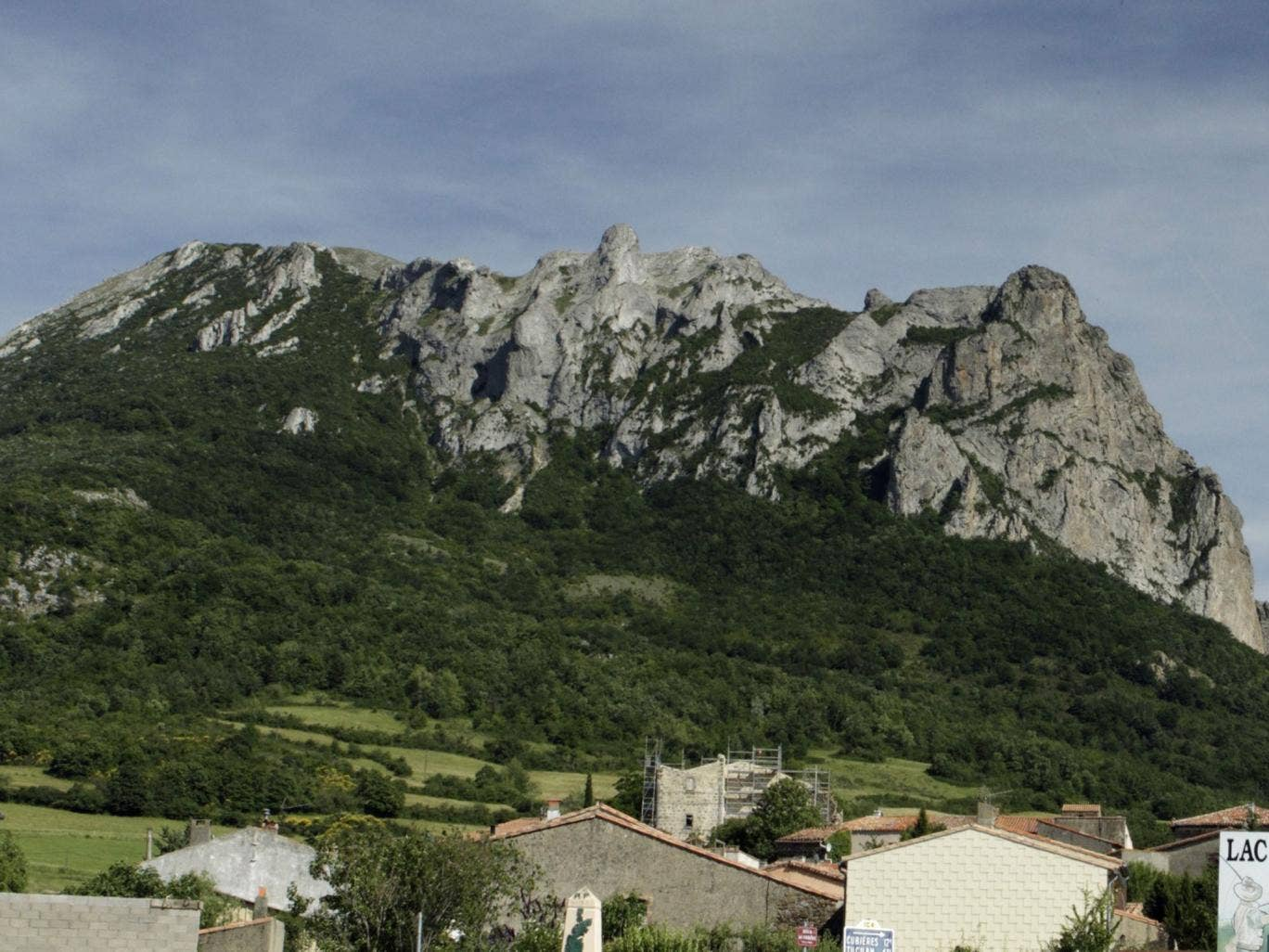 Pic de Bugarach mountain in France