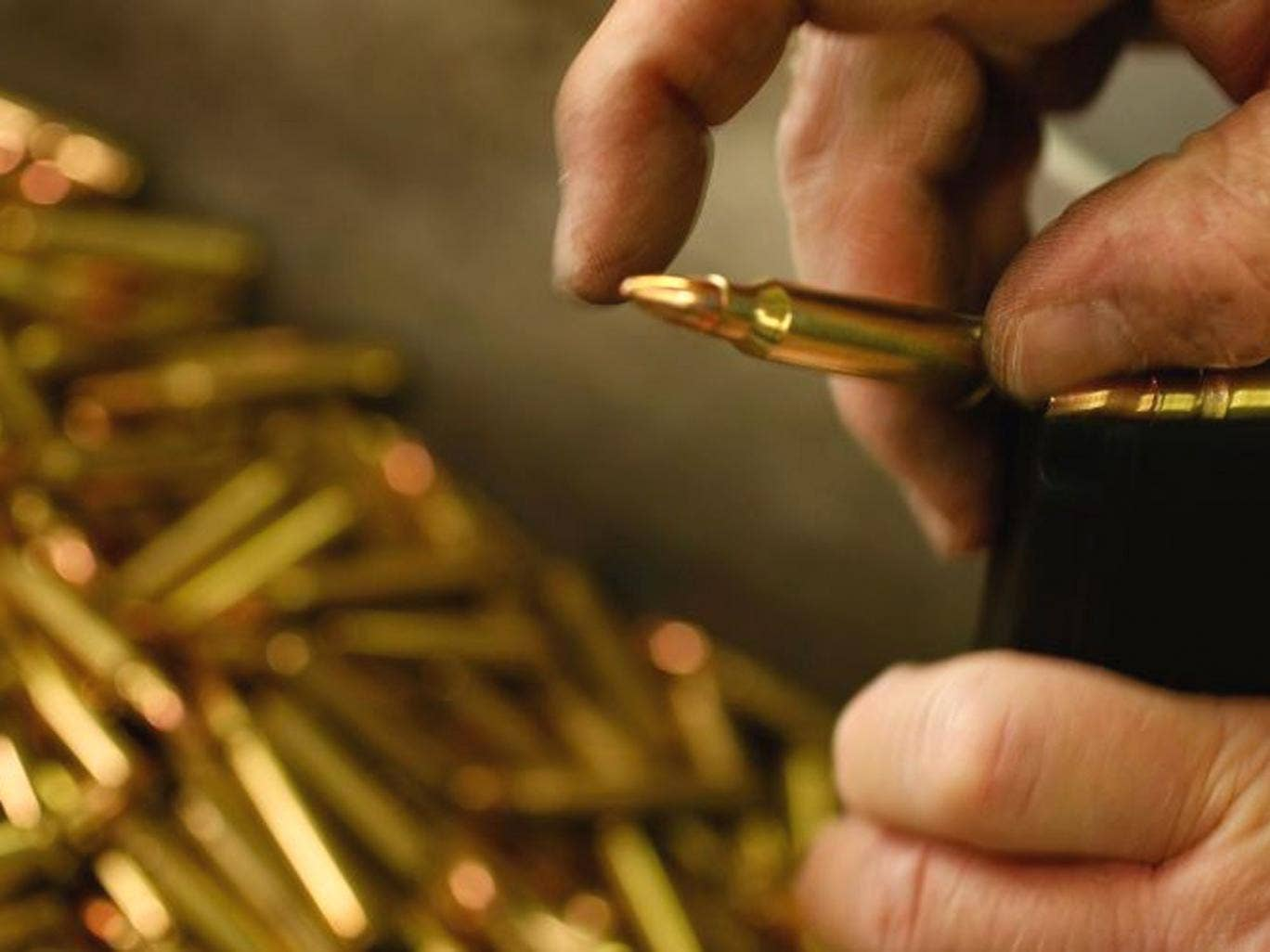 Independent gun-shop owners reported a stampede of customers anxious to buy assault rifles