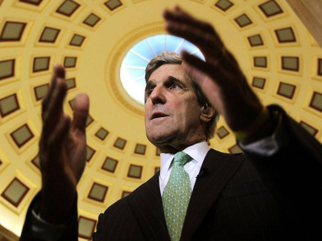 John Kerry is the uncontroversial choice for the post