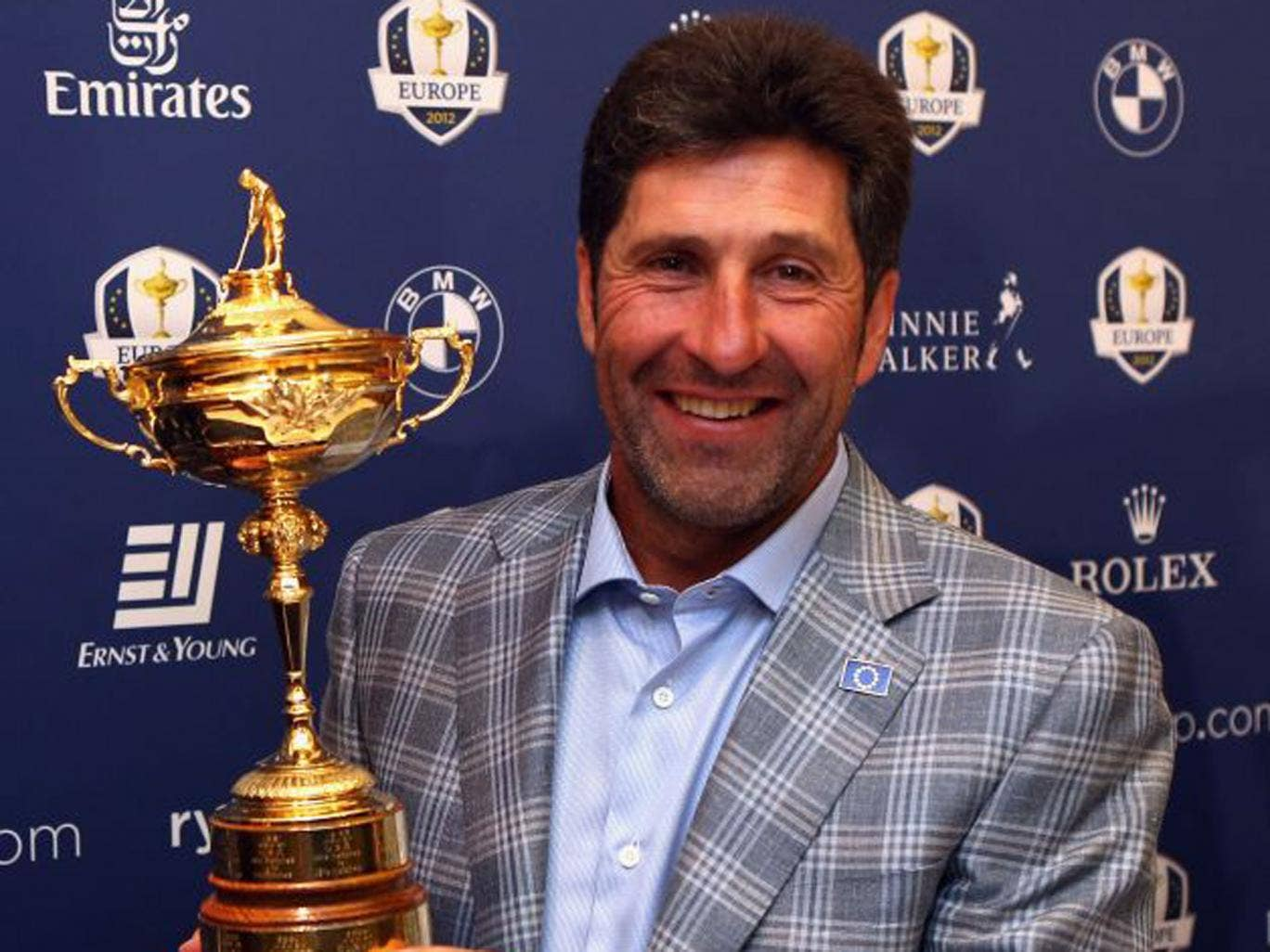 'This was it. The moment that would decide the Ryder Cup. A 10-footer for glory ... Get in!'