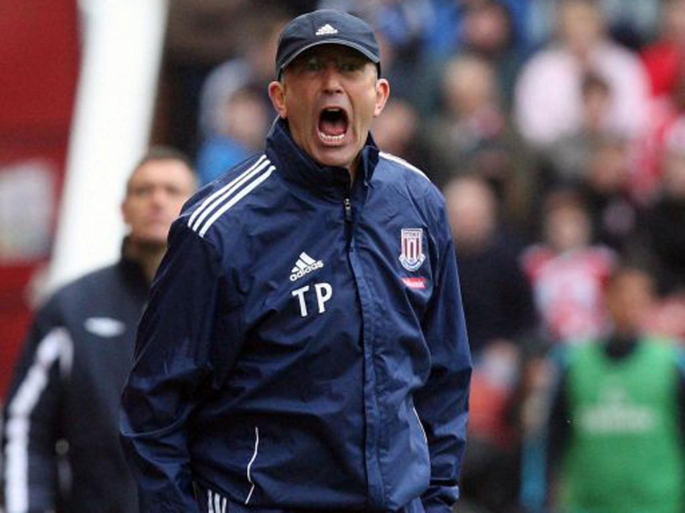 """He wears the club shop, Tony Pulis, he wears the club shop"" - Stoke crowd salute the manager's dress sense"