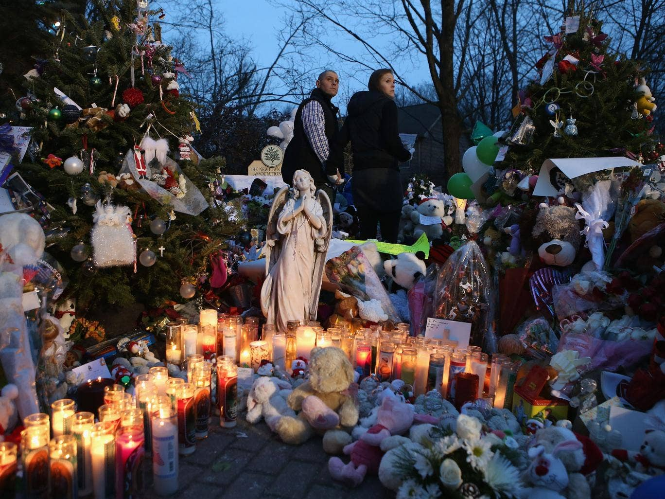 The Newtown community continues to mourn