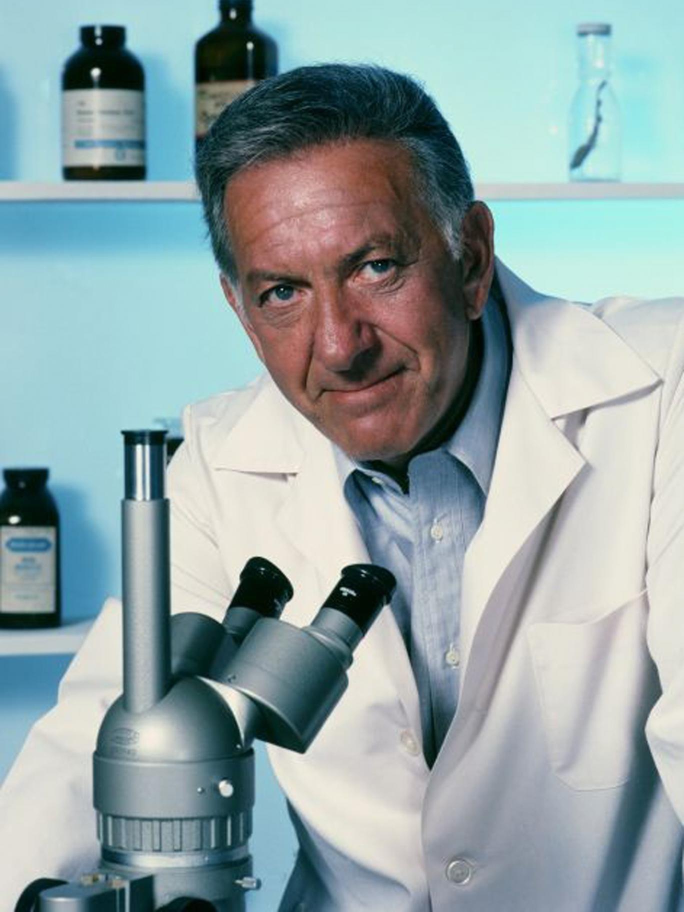 Klugman in 'Quincy ME', a precursor to today's CSI genre