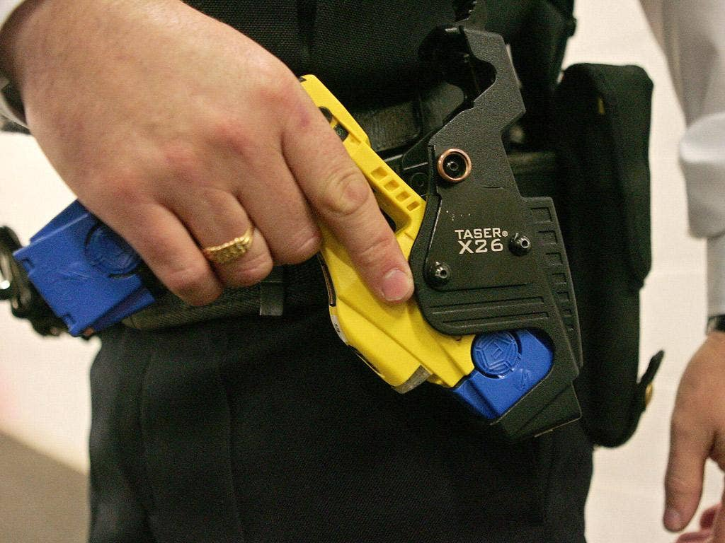 Police have used tasers to stop people committing suicide or harming themselves