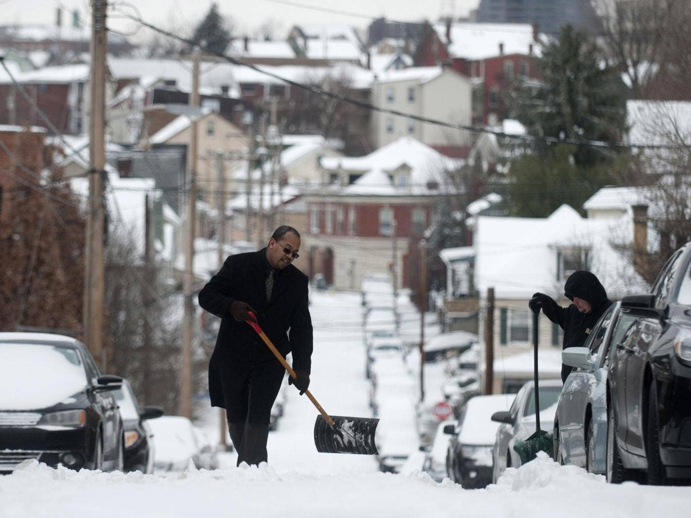 The National Weather Service says the heaviest accumulations will be in northern Pennsylvania, upstate New York and inland sections of several New England states